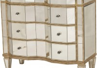 Antique Mirror Chest Of Drawers