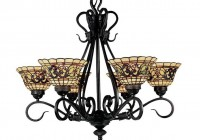 Antique Tiffany Style Chandelier