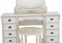 Antique Vanity Desk With Mirror