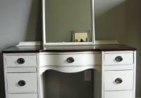 Antique Vanity Dresser And Mirror