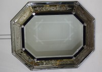 Antiqued Mirror Picture Frames