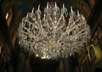 Art Deco Chandelier Vector