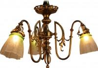 Art Nouveau Chandelier Reproduction