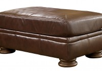 Ashley Furniture Ottoman Brown Leather