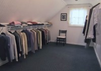 Attic Closet Design Ideas