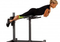 Back Extension Bench Exercises