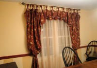 Balloon Curtains For Dining Room