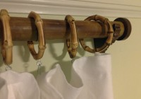 Bamboo Shower Curtain Rings