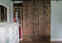 barn board closet doors