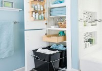 Bathroom Closet Organization Ideas Pinterest