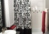 Bathroom Shower Curtain Decorating Ideas