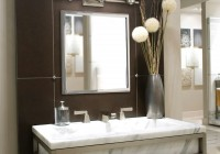Bathroom Vanity Mirror And Light Ideas