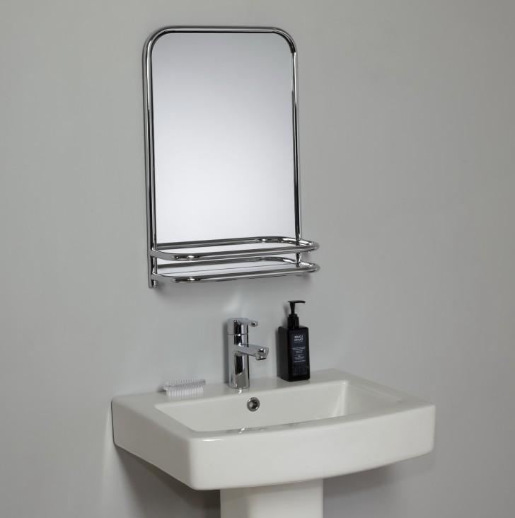 Permalink to Bathroom Wall Mirror With Shelf