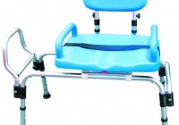Bathtub Transfer Bench Sliding Seat