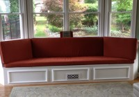 bay window bench cushions