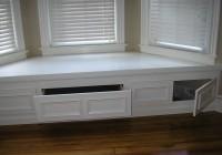Bay Window Bench With Storage