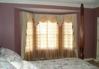 Bay Window Curtain Ideas For Bedroom