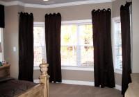 Bay Window Curtain Ideas Living Room