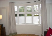 Bay Window Curtain Pole