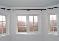 Bay Window Curtain Rods Lowes