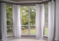 Bay Window Sheer Curtains