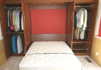 Bed In Closet Diy
