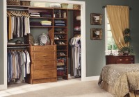 Bedroom Reach In Closet Designs