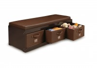 Bedroom Storage Bench With Cushion