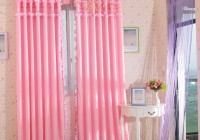 Bedroom Window Curtains Pink