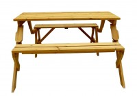 Bench Picnic Table Combo