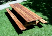Bench Picnic Table Plans