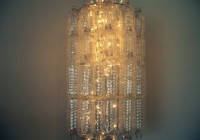 Bethany Mota Water Bottle Chandelier