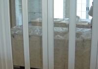 Bifold Mirrored Closet Door