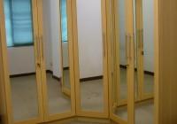 bifold mirrored closet doors
