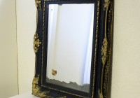 Black And Gold Wall Mirror