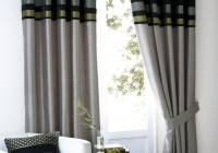 Black And Grey Curtain Panels
