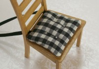 Black And White Chair Cushions
