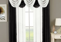 Black And White Sheer Curtains