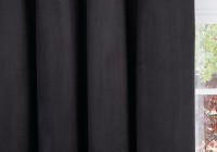 Black Blackout Curtains 66 X 90