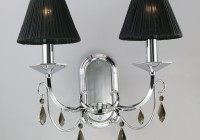 Black Chandelier Light Shades