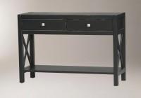 Black Console Table Decor
