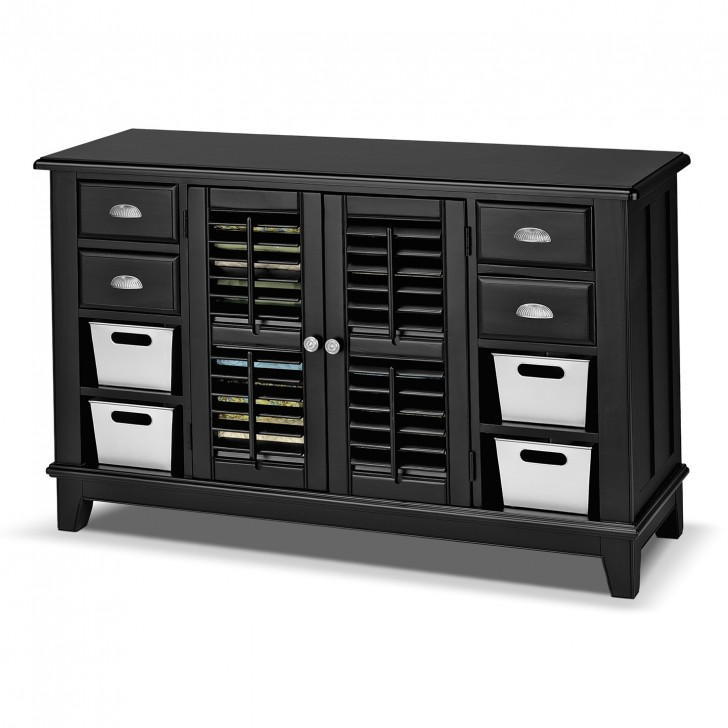 Permalink to Black Console Table With Doors