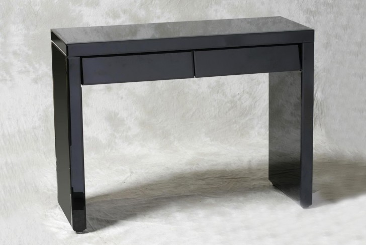 Permalink to Black Console Table With Drawers