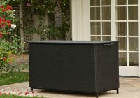 Black Deck Box Bench