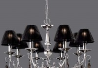 Black Lamp Shade Chandelier
