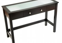 Black Parsons Console Table