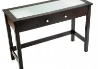 Black Parsons Console Table