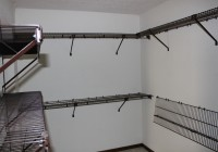 Black Wire Closet Storage Shelves
