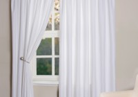 blackout curtains white