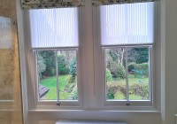 Blinds And Curtains On Same Window